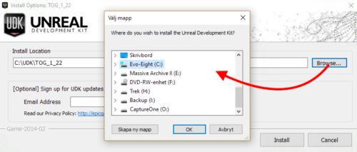 Hur du väljer var ett enskilt spel installeras i Windows.
