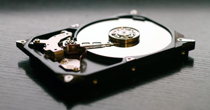 En hårddisk med SSD att snabba up datorn
