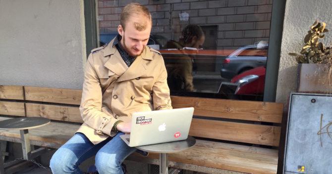 Tech Trooper som erbjuder IT-support som deltidsjobb i Stockholm, Göteborg, Malmö, Halmstad, Helsingborg och nu även Norge.