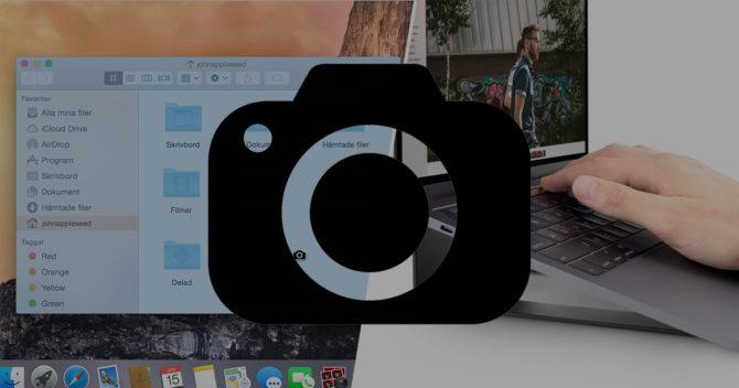 Skärmdump mac OS X