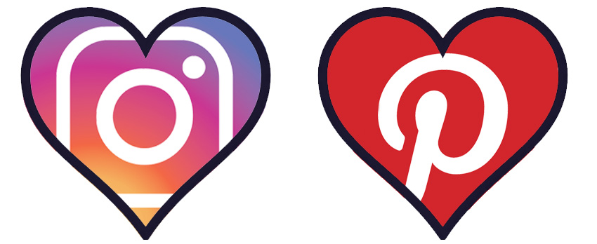 Logo-with-heart-Instagram-och-Pinterest