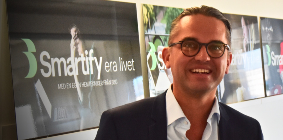 Jonas Alfredson ordförande i Smartify