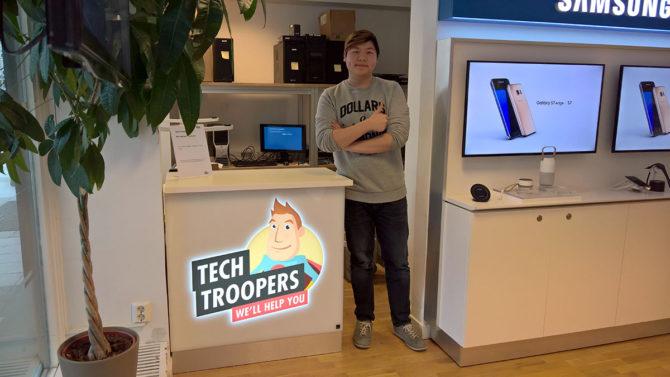David tech troopers