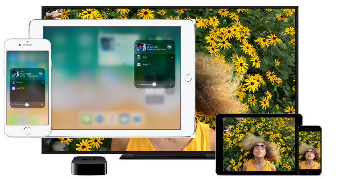 screensharing with tech products apple