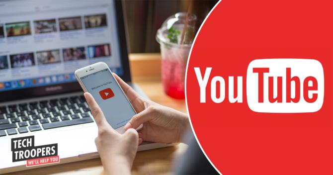 Youtube app smartphone