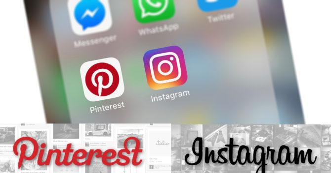 Skillnader mellan Instagram och Pinterest