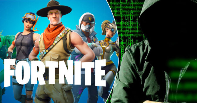 Fortnite + hacker image