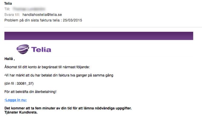 telia-phising