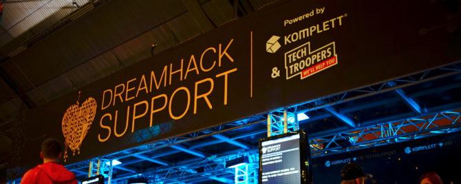 Dreamhack med Techtroopers
